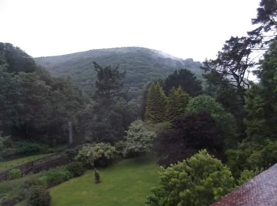 The Hunters Inn: The view from my window. It was a dull afternoon but still stunning.