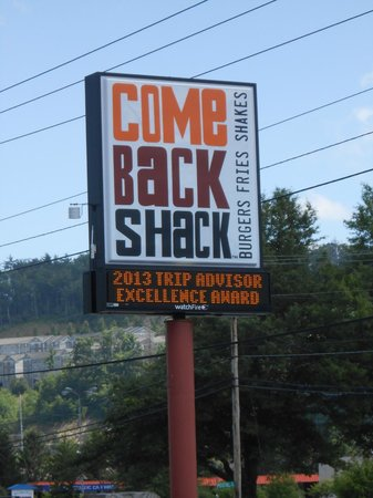 Come Back Shack: Calling me back