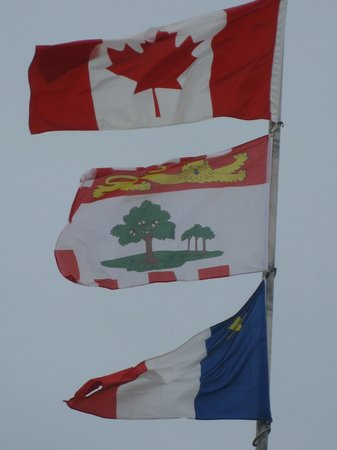 Prince County Bed & Breakfast : Flags of the Island