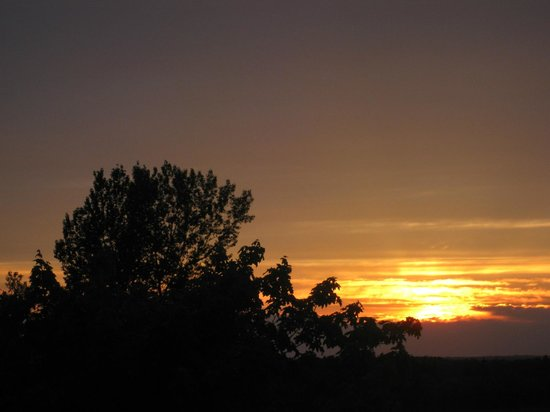 Prince County Bed & Breakfast : Spectacular sunset