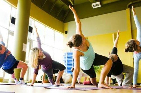 Feel Good Yoga & Pilates: Yoga class in our beautiful large studio