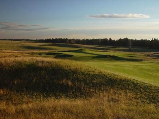 Ponoka, Kanada: Hole #14 Old Course