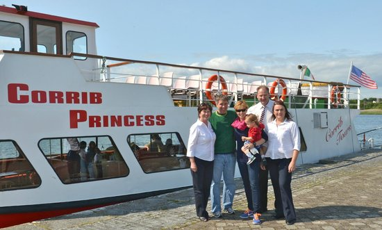 Corrib Princess River Cruise: Douglas Kennedy, his wife Molly and family join crew of Corrib Princess for a cruise.
