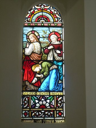 St. Tudno's Church : Stained glass window