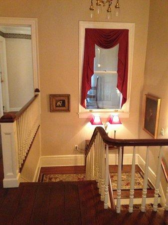 1842 Inn: stairs