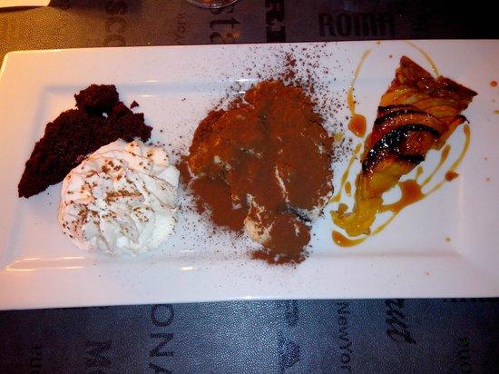 Le Dolce Italia : Assiette gourmande : quand on ne sait quel dessert choisir...