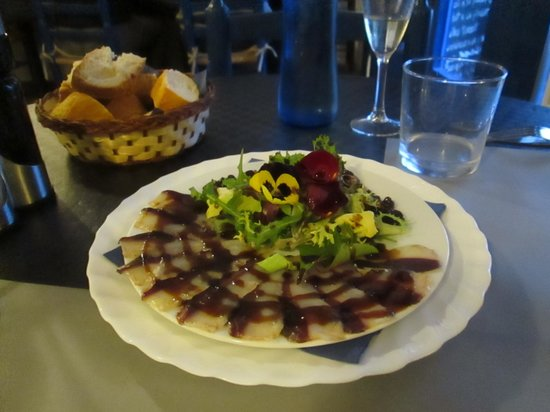 Restaurant La Sirena: Duck starter, we were the 1st to try it!
