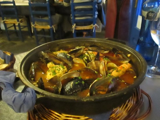 Restaurant La Sirena: Fantastic Fish Stew!