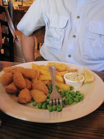 Crystal Palace: Scampi & chips