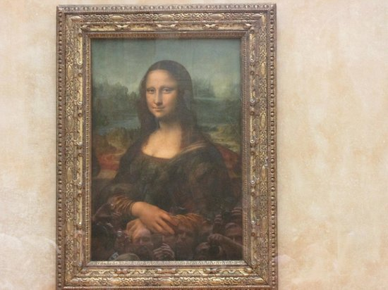 The mona lisa picture of louvre museum paris tripadvisor for Le louvre interieur
