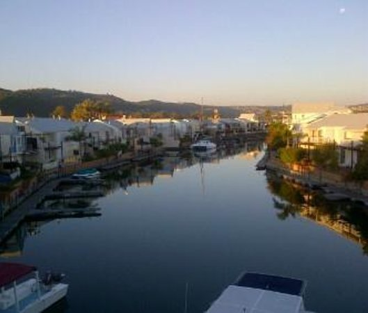 Knysna Quays Accommodation: Wonderful view from room!