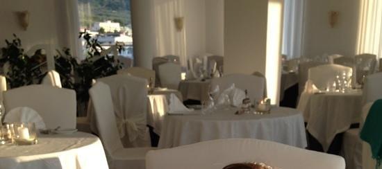 Vesuvio Roof Restaurant Sorrento: sala pranzo