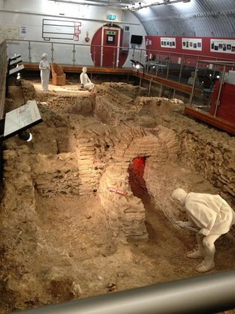 Welwyn Roman Baths: The Baths