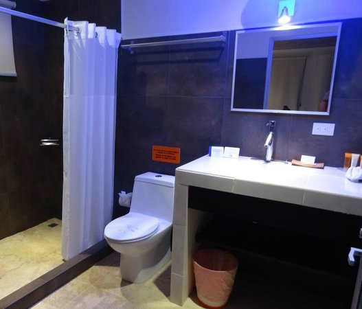 Hotel Laguna Mar: Bathroom