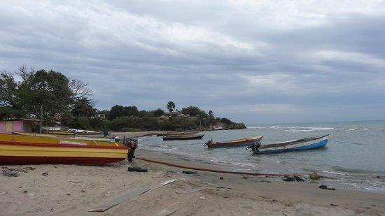 Irie Rest Guest House: Die Boote der Fischer