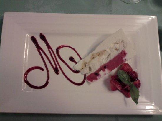 Le Colombier Hotel-Restaurant : Dessert