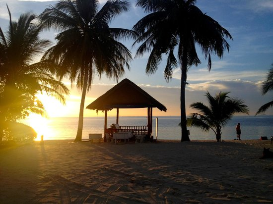 Seaboard Bungalows: Sunset from your terrace