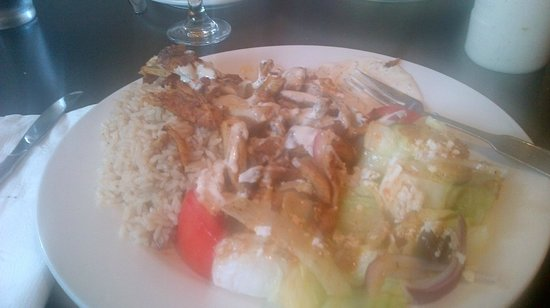 Agabi Grill House: Chicken Shwarma