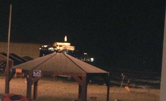 Manta Ray : Blick von der Terrasse auf Jaffa