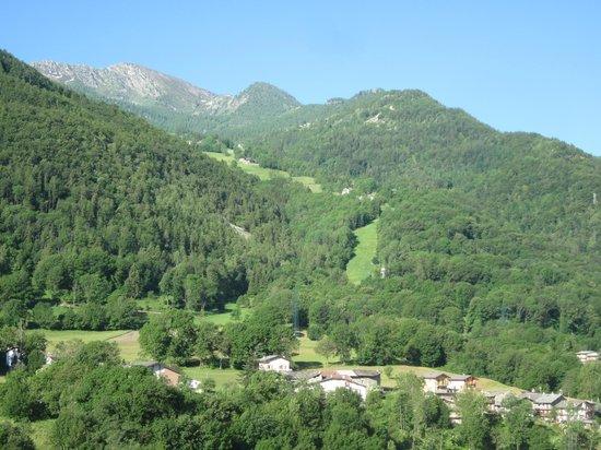 Hotel Monte Nebin: Vista dal 4° piano