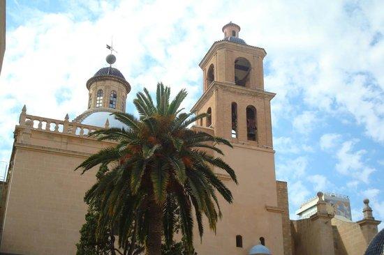 Concatedral de San Nicolás de Bari: Outside view