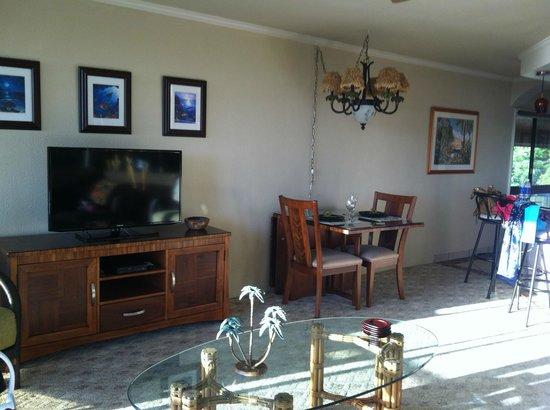 Kahana Villa Resort: Living Room