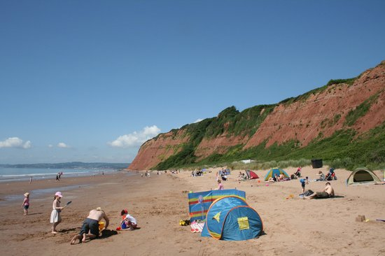Devon Cliffs Holiday Park Haven Sand Bay Beach