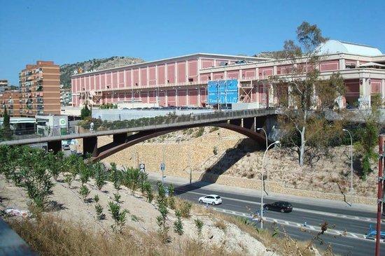Alicante, Spain: View of the footbridge