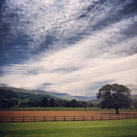 The Lodge Brecon B&B: A view from The Lodge