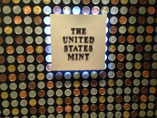 United States Mint: In gift shop
