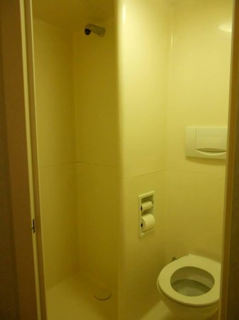 Ibis Budget Fecamp: shower/toilet combo