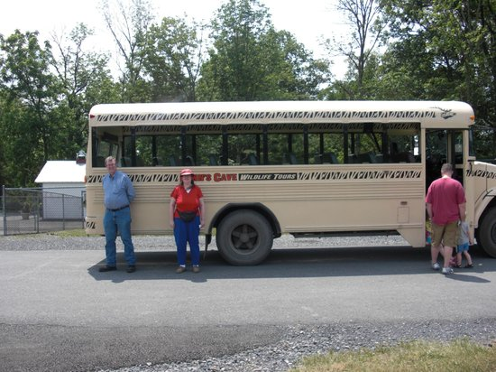 Penn's Cave: Wildlife Tour Bus