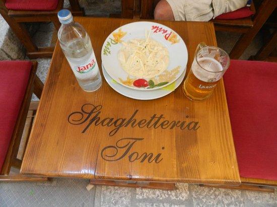 Spaghetteria Toni: Great Gnocchi
