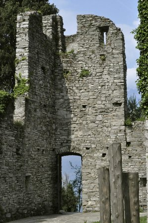 Castle Ruins (just down the street)