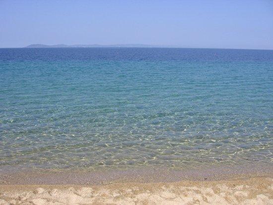 Toroni Blue Sea Hotel & Spa: Clean water