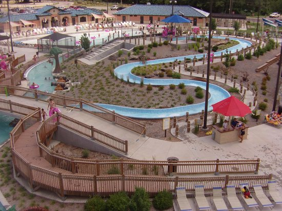 Kenwood Cove Water Park: View of the 'rapids' ride