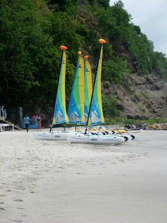 BodyHoliday Saint Lucia: Watersports abound here!