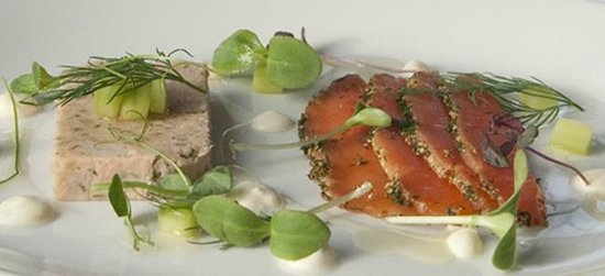 Grange at Oborne: Salmon Gravadlax
