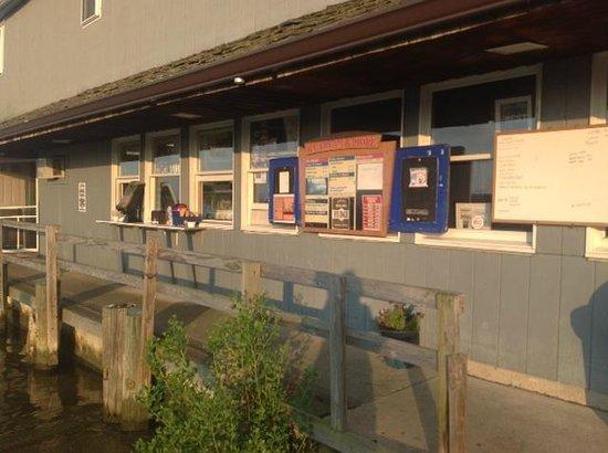 Scottish Highland Creamery: Order Window
