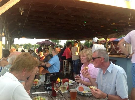Schooners On The Creek: Some happy folks