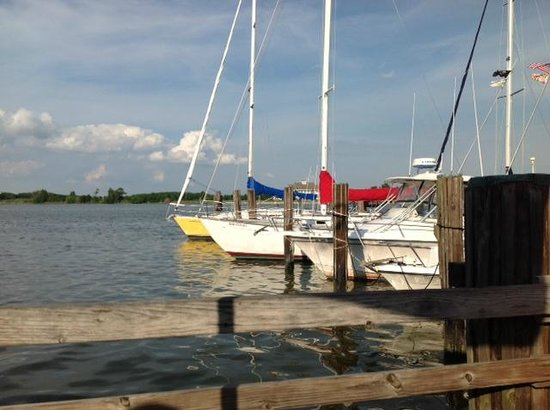 Schooners On The Creek: View