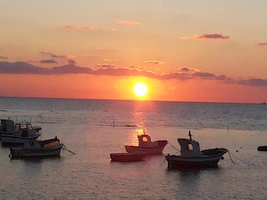Ristorante Sirena di Sansica : tramonto