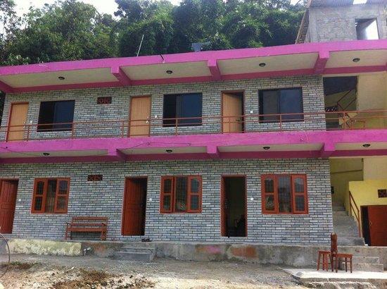 Guest House Construction : New building picture of parent guest house pokhara