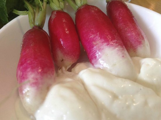 The Whitechapel Refectory: Radishes to begin ...