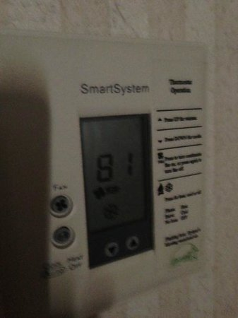 Inn & Suites At Discovery Kingdom: thermostat 9pm