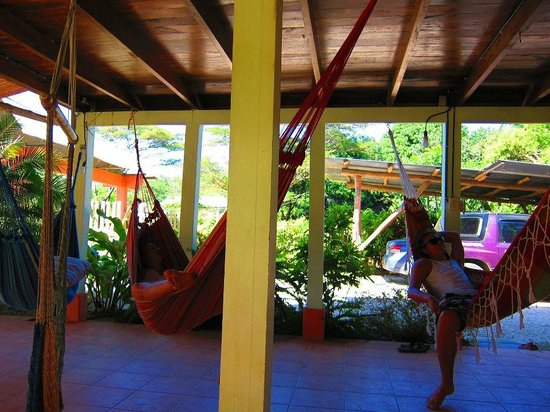 Las Mariposas: Relaxing in hammock and shade