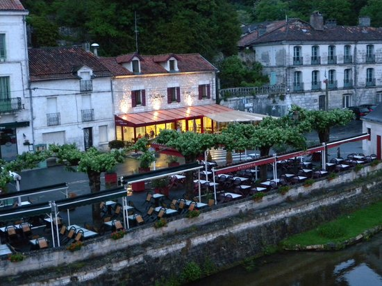 Brantome, France: pleasant location