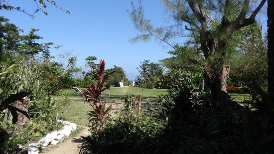 Das Gelände der River Lodge