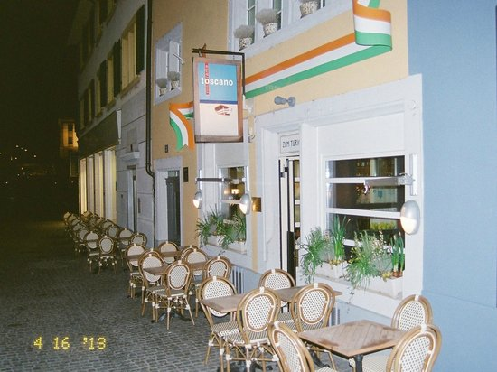Ristorante toscano : View from outside