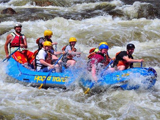 Rapid Transit Rafting: Fun #1
